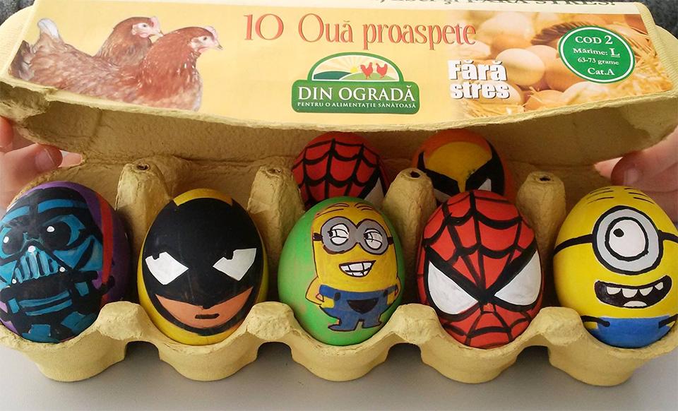 Atelierul de încondeiat ouă